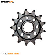 RFX Pro Front Sprocket (Black Zinc) Suzuki RMZ450 13>On
