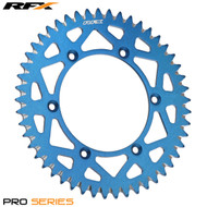 RFX Pro Series Elite Rear Sprocket Sherco SE 250-450  Husqvarna 125-610 Up To 2013 (Blue) - Various Sizes