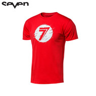 Seven Casual Youth Tee (Dot Static Red)