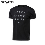 Seven Casual Adult Tee (Redefine Black)