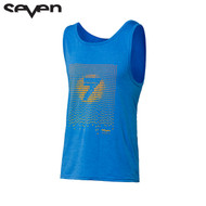 Seven Casual Adult Tank Top (Acid Rain Blue Heather)