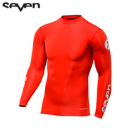 Seven MX 17.1 Zero Adult Compression Jersey (Red)
