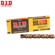 DID Chain 428 x 134 RJ Heavy Duty Gold & Black Chain