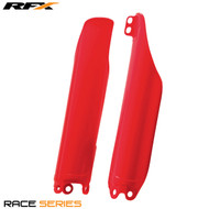 RFX Fork Guards Honda (Red) CR125/250/500 90-07 CRF250 0>On CRF450 02>On CRFX250 04>On CRF450X 05>On