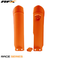 RFX Fork Guards KTM (Orange) SX85 09>On