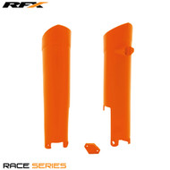 RFX Fork Guards KTM (Orange) SX125/144/150/250 08-14 SXF250/350/450 08-14 EXC/EXC-F 250-525 08-14