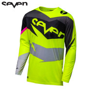 Seven MX 18.1 Annex Adult Ignite Jersey (Black/Flo Yellow)