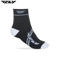 Fly 2018 Action Adult Sock (White/Black)