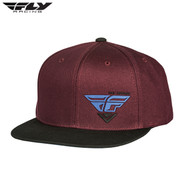 Fly FlexFit Hat (Choice Port/Blue) Size OSFA