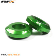 RFX Pro FAST Wheel Spacers Rear (Green) Kawasaki KX125/250 03-08 KXF250/450 04-18