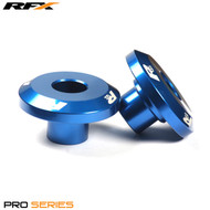 RFX Pro FAST Wheel Spacers Rear (Blue) Yamaha YZ125/250 03-18 YZF250/450 03-09