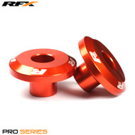 RFX Pro FAST Wheel Spacers Rear (Orange) KTM SX All Models 125-525 03-12 EXC Models 04-18
