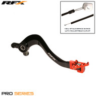 RFX Pro FT Rear Brake Lever (Black/Orange) KTM SX85 18>On