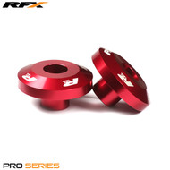 RFX Pro FAST Wheel Spacers Rear (Red) Suzuki RMZ250 07-18 RMZ450 05-18