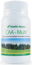 CAA -Multi Capsules - A New Zealand Formulation of High Quality Vitamins and Minerals