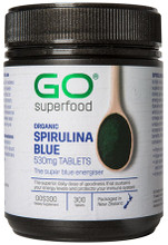 Contains 100% High Phycocyanin Spirulina (Organic), Proving a Unique Rich Source of Super Nutrients