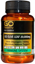 Contains 20,000mg Olive Leaf Extract, Providing 100mg Oleuropein per Capsule for Super Charged Immune Protection