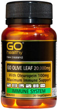 Contains 20,000mg Olive Leaf Extract Providing 100mg Oleuropein per Capsule for Super Charged Immune Protection