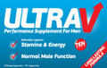 Ultra V Natural Performance Supplement for Men Supports Healthy Male Sexual Function.