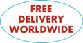 FREE DELIVERY WORLDWIDE - Yes, it's true - the advertised prices are all that you pay.