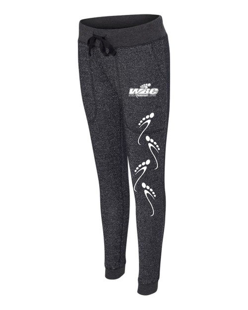 Womens Glitter Jogger Sweatpants (Various Colors Available)
