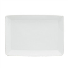 Thomas Loft White Rectangular Trays 7 1/4""