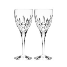 Lismore Nouveau Red Wine/Goblet 11 oz Pair