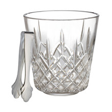 Lismore Barware Ice Bucket W/Tongs