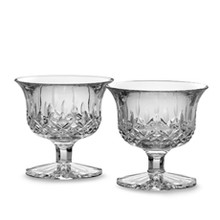 Lismore Giftware Small Footed Bowl Pair