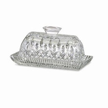 Lismore Tableware Covered Butter Dish