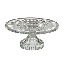 "Lismore Tableware Footed Cake Plate, 11""D"