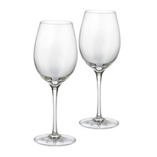 Waterford Clear Light Red Wine Pair