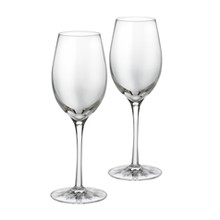 Waterford Clear Light White Wine Pair