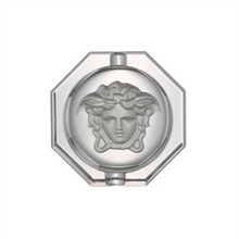 Versace Medusa Lumiere Crystal Ashtray 6 1/4""