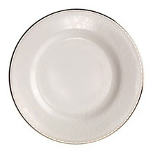 Merry White Bone China Salad Plate 7 3/4""