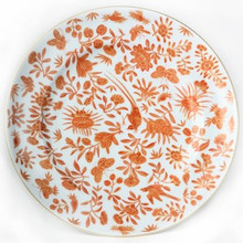 "Mottahedeh Sacred Bird & Butterfly Dinner Plate 10"" (Set of 2)"