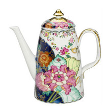 Mottahedeh Tobacco Leaf Coffee Pot