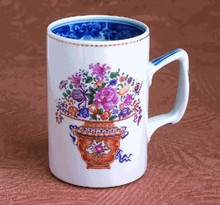 Mottahedeh Mandarin Bouquet Mug (Set of 2)