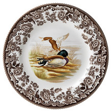 "Spode Woodland Mallard Salad Plate 8"" (Set of 6)"