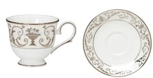 "Lenox Autumn Legacy Cup 6 Oz & Saucer 6"" (Set of 4)"