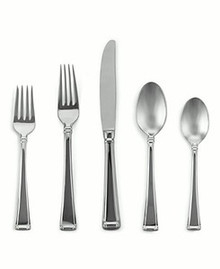 Gorham Stainless Steel Column 5 Piece Place Setting