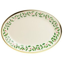 Lenox Holiday Oval Platter 13""