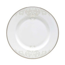 "Lenox Opal Innocence Scroll Salad Plate 8"" Set of 4"