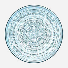 Iittala Kastehelmi Light Blue Plate 12.25""