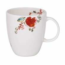 Lenox Chirp Tea / Coffee Cup 10 oz & Saucer