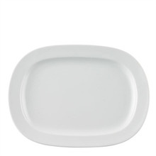 "Thomas Vario White Platter, 14"" Oblong"