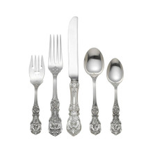 Reed & Barton Sterling Francis I 5-Piece Dinner Set Size