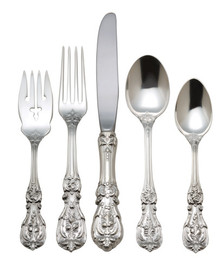Reed & Barton Sterling Francis I 46-Piece Place Set, Service for 8 Plus 6-Piece Serving Set