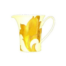 Versace Arabesque Gold Creamer, Covered 7oz