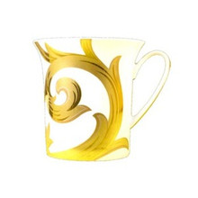 Versace Arabesque Gold Mug 11.5oz